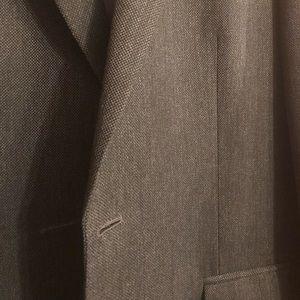 Van Heusen Charcoal Gray Textured Jacket